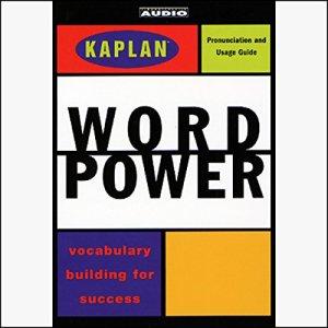 Kaplan Word Power audiobook cover art