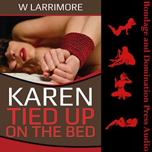 Karen Tied up on the Bed audiobook cover art