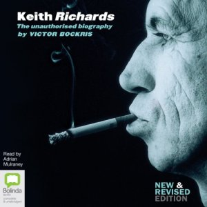 Keith Richards audiobook cover art