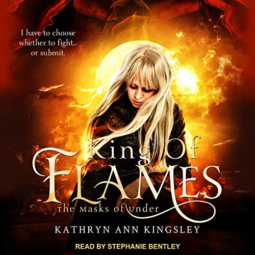 King of Flames audiobook cover art