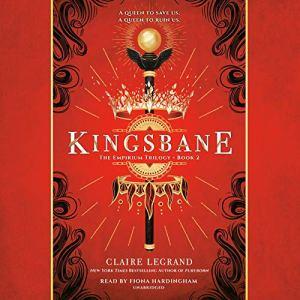 Kingsbane audiobook cover art