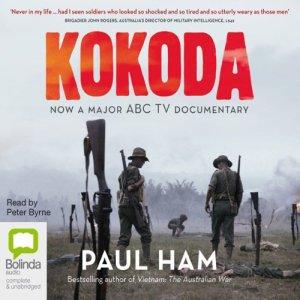 Kokoda (by Paul Ham) audiobook cover art