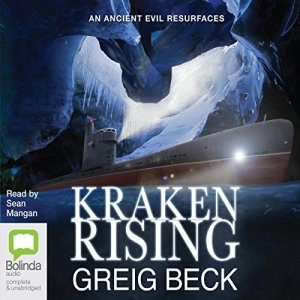 Kraken Rising audiobook cover art