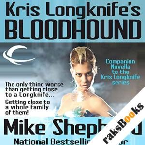 Kris Longknife's Bloodhound audiobook cover art