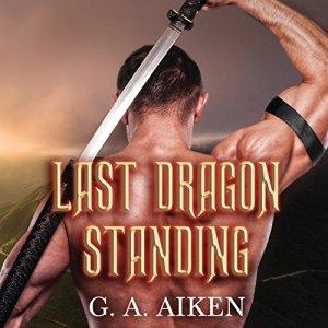 Last Dragon Standing audiobook cover art