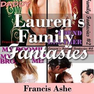 Lauren's Family Fantasies 4-Pack audiobook cover art