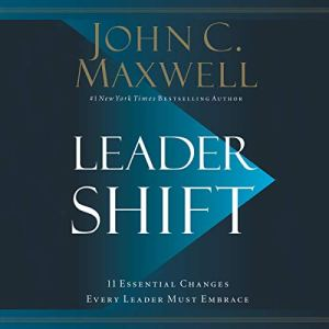 Leadershift audiobook cover art