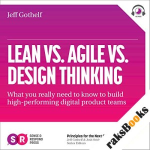 Lean vs Agile vs Design Thinking audiobook cover art