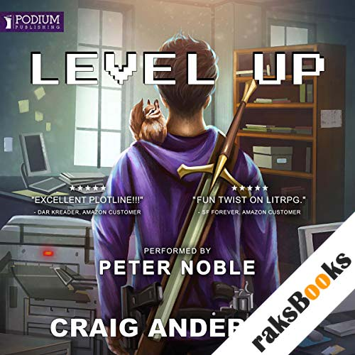 Level Up audiobook cover art