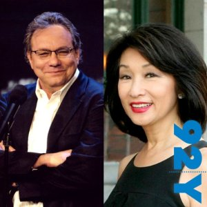 Lewis Black with Connie Chung audiobook cover art