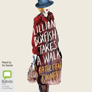 Lillian Boxfish Takes a Walk audiobook cover art