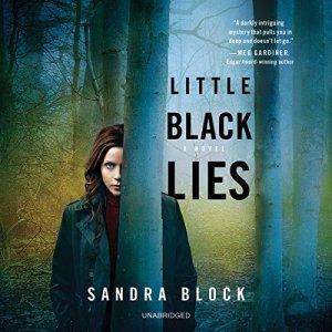 Little Black Lies audiobook cover art