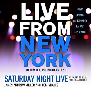 Live from New York audiobook cover art