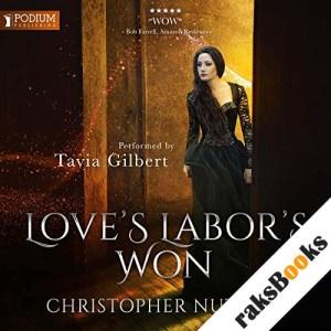 Love's Labor's Won audiobook cover art
