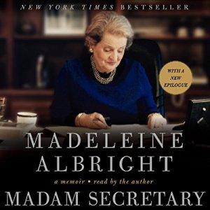 Madam Secretary audiobook cover art