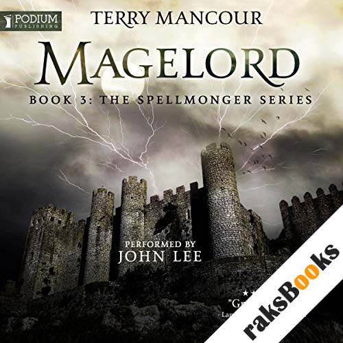 Magelord audiobook cover art