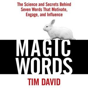 Magic Words audiobook cover art