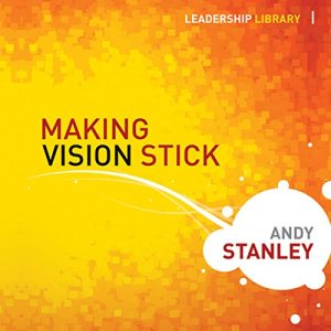 Making Vision Stick audiobook cover art