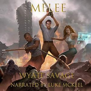 Melee, Book 1 audiobook cover art