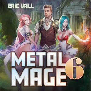 Metal Mage 6 audiobook cover art