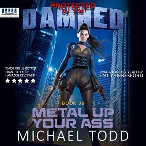 Metal up Your Ass audiobook cover art
