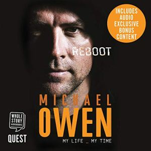 Michael Owen: Reboot audiobook cover art