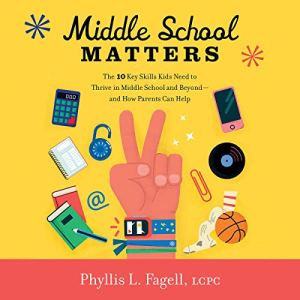 Middle School Matters audiobook cover art