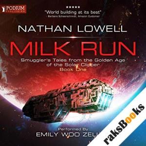 Milk Run audiobook cover art
