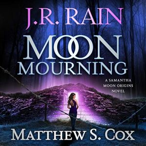 Moon Mourning audiobook cover art