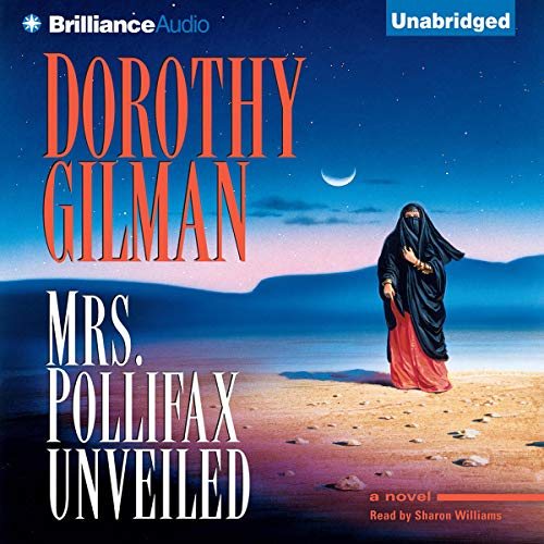 Mrs. Pollifax Unveiled audiobook cover art