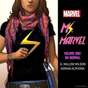 Ms. Marvel, Vol. 1: No Normal audiobook cover art