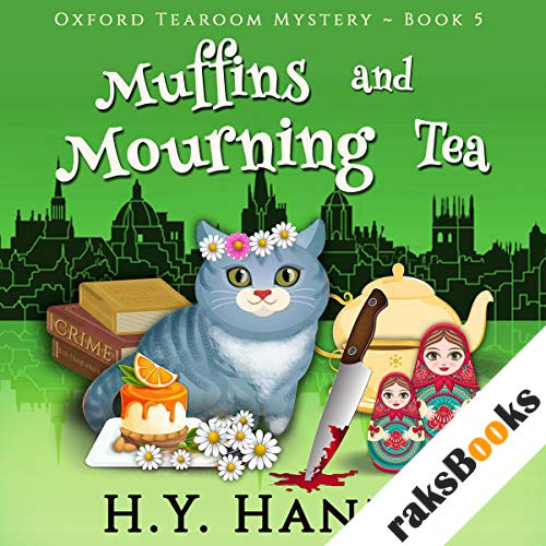 Muffins and Mourning Tea audiobook cover art
