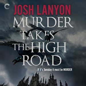 Murder Takes the High Road audiobook cover art