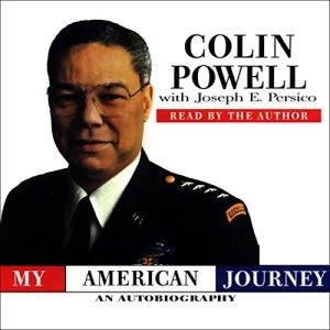 My American Journey audiobook cover art