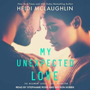 My Unexpected Love audiobook cover art