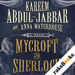 Mycroft and Sherlock audiobook cover art