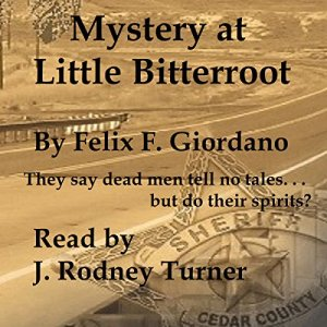 Mystery at Little Bitterroot audiobook cover art