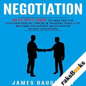 Negotiation audiobook cover art