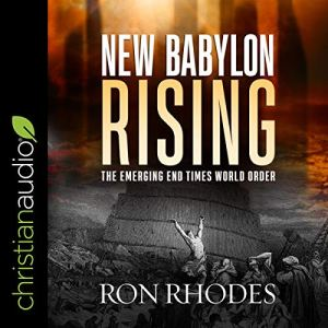 New Babylon Rising audiobook cover art
