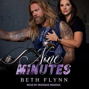 Nine Minutes audiobook cover art