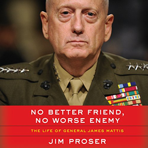 No Better Friend, No Worse Enemy audiobook cover art