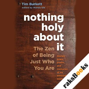 Nothing Holy About It audiobook cover art