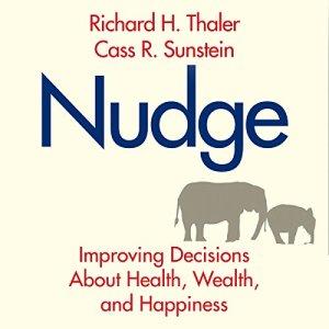 Nudge audiobook cover art