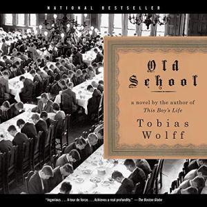 Old School audiobook cover art
