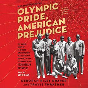 Olympic Pride, American Prejudice audiobook cover art