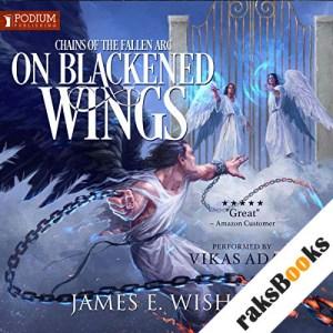 On Blackened Wings audiobook cover art