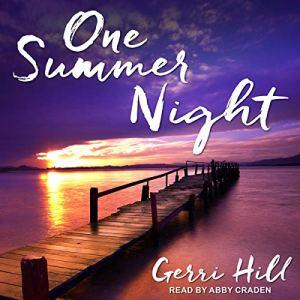 One Summer Night audiobook cover art