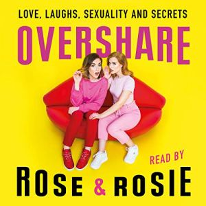 Overshare audiobook cover art