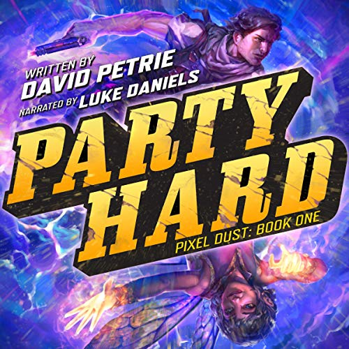 Party Hard audiobook cover art