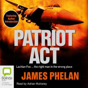 Patriot Act audiobook cover art